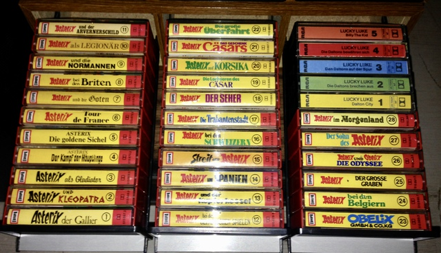 Asterix-Hörspielkassetten
