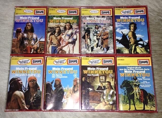 Europa: Mein Freund Winnetou (1980) MC Folge 1-8