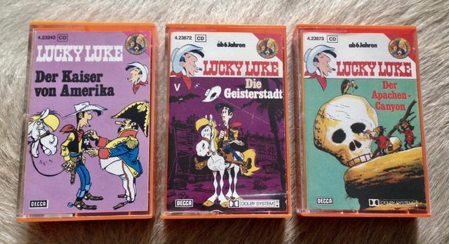 Lucky Luke Hörspielkassetten