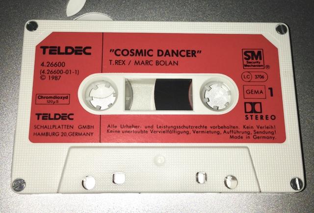 MC von T.Rex / Marc Bolan - Cosmic Dancer