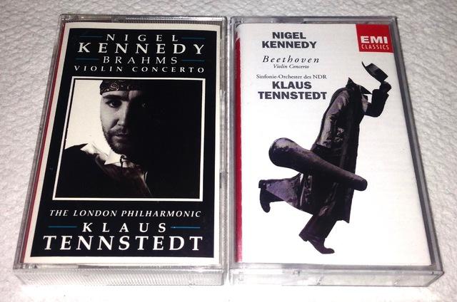 Nigel Kennedy ? Violinkonzerte von Brahms und Beethoven