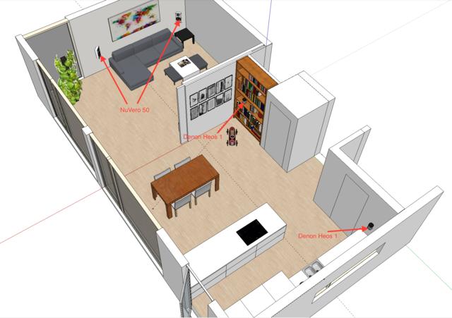 HiFi für Wohnzimmer und Küche