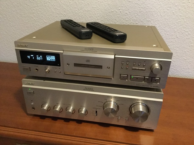 Sony TA-FA30ES+CDP-XA30ES