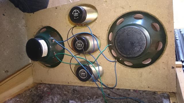 Schaltung Lautsprecher DDR - Box