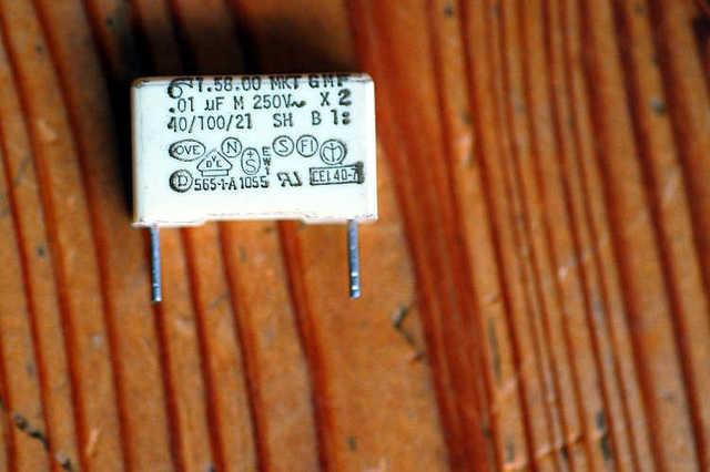 RA1010 Entstörkondensator