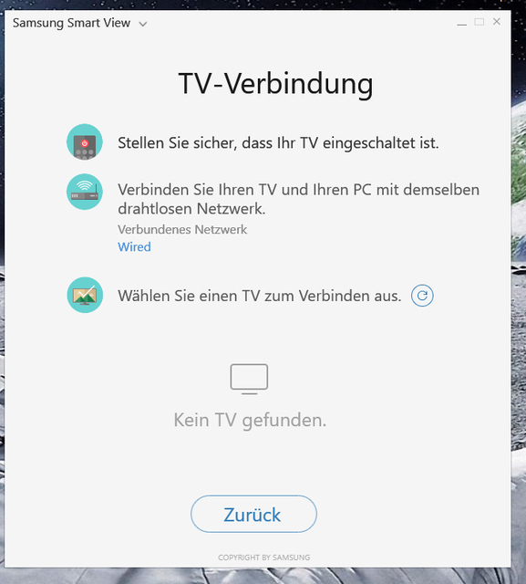 verbindung tv pc