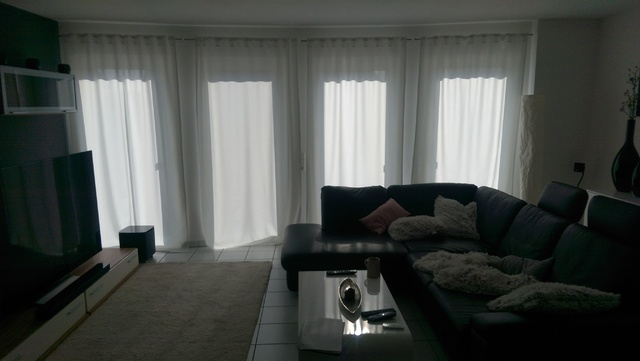 Wohnzimmer Fensterfront