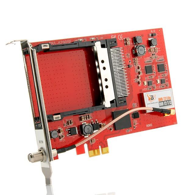 TBS6290SE DVB-T2 Dual PCIe Card