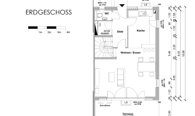 Wohn-Ess-Zimmer