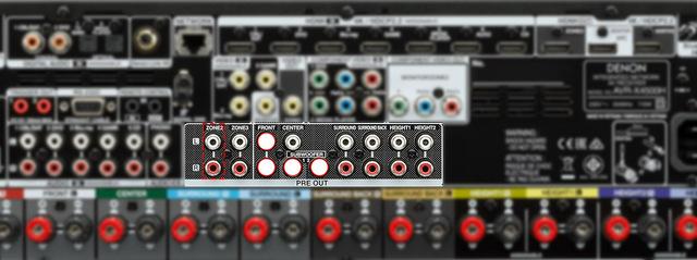 AVR-X4500H Anschluesse