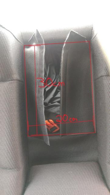 Lautsprecher Audi 80 b3 Durchladeöffnung 2