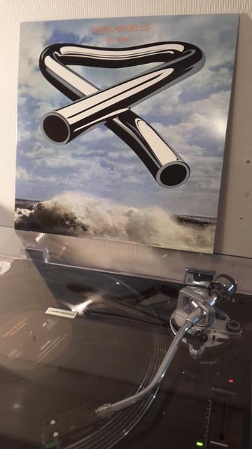 Mike Oldfield - Tubular Bells Drehend