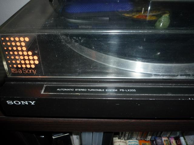 Sony PS-LX205