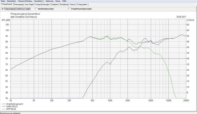 boxsim chassis einf gen und frequenzweiche berechnen. Black Bedroom Furniture Sets. Home Design Ideas