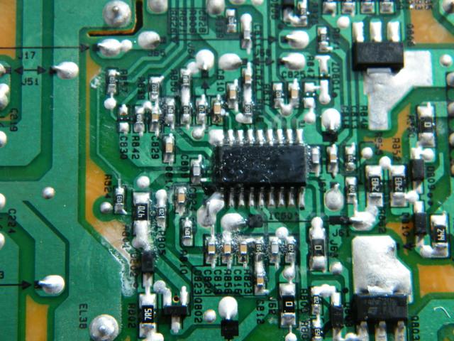 Netzteil Board