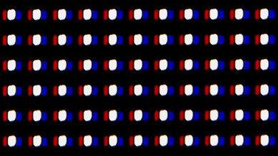 Pixelstruktur Sony XBR A1E