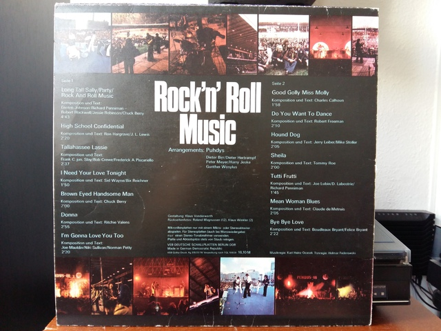 Puhdys ?? Rock\'n\'Roll Music 2