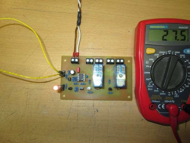Test Reset Stromaufnahme Bei 15V