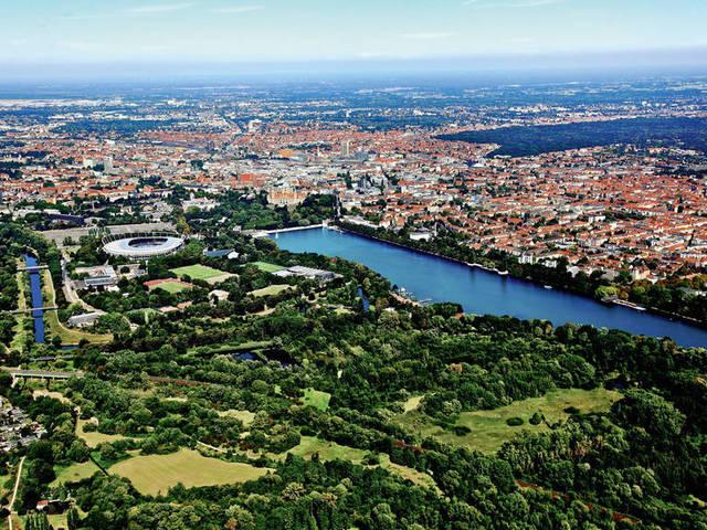 Luftbild Hannover Niedersachsen  Klar Image Full