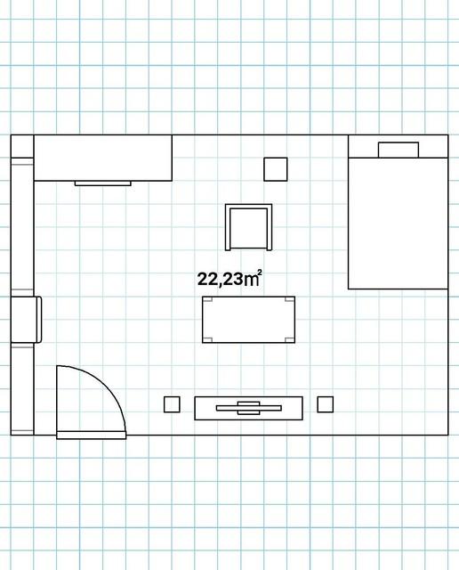 Skizze Von Meinem Raum