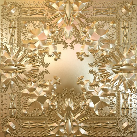 JAy Z Kanye West Watch The Throne Artwork Cover