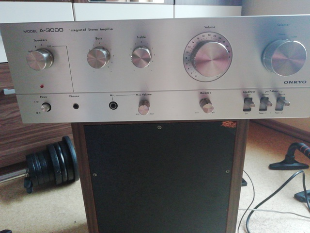 Verstärker Onkyo A-3000
