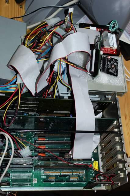 Amiga2000 im Umbau