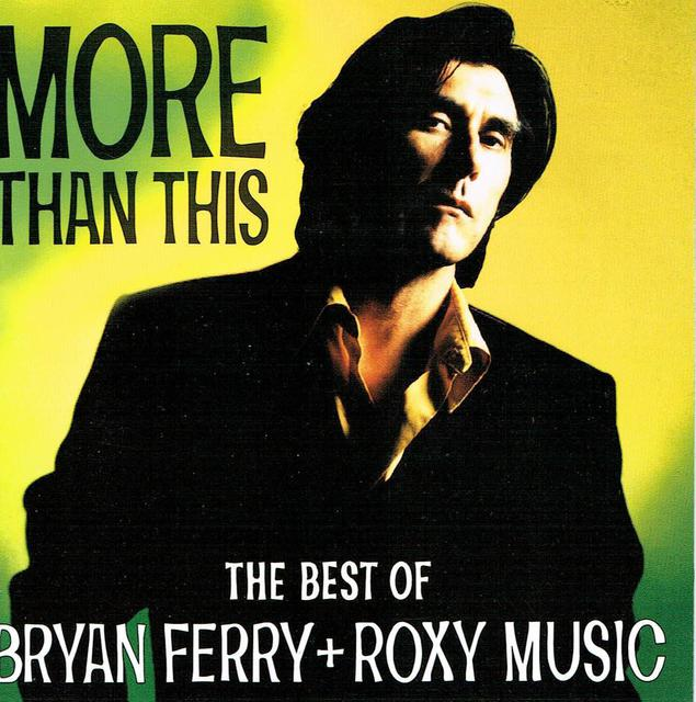 Bryan Ferry + Roxy Music - The Best Of (CD-Cover)