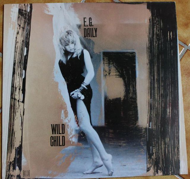 E. G. Daily - Wild Child (LP Cover)
