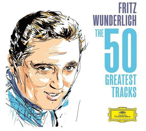 Fritz Wunderlich - The 50 greatest tracks (CD-Cover)