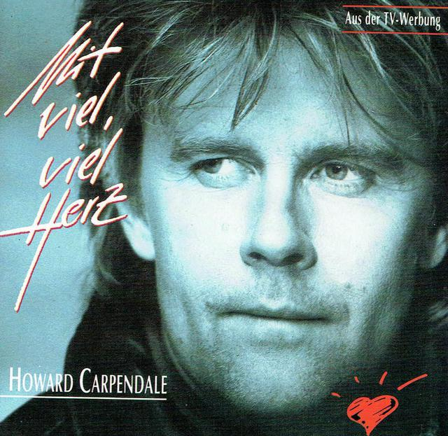 Howard Carpendale - Mit Viel, Viel Herz (CD-Cover)