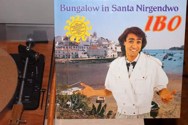 IBO - Bungalow In Santa Nirgendwo (LP-Cover)