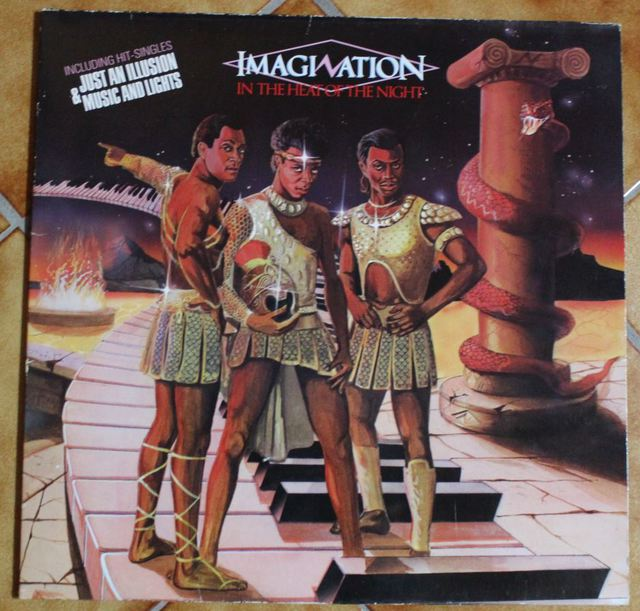 Imagination - In The Heat Of The Night (LP Cover)