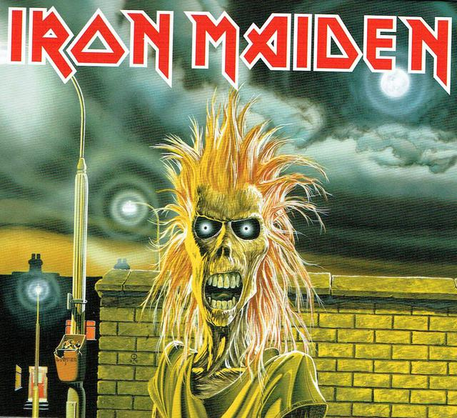 Iron Maiden (CD-Cover)