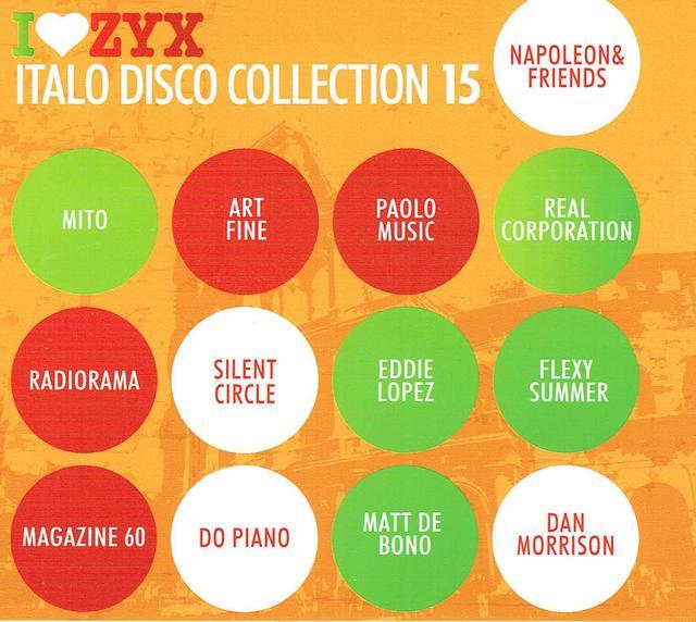 Italo Disco Collection 15 (CD-Cover)