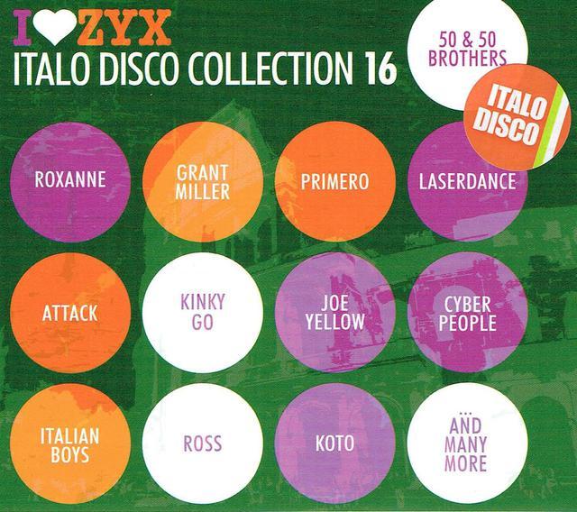Italo Disco Collection 17 (CD-Cover)