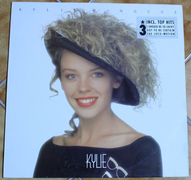 Kylie Minogue - Kylie (LP-Cover)