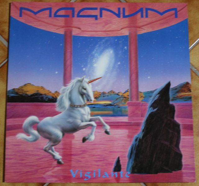 Magnum - Vigilante (LP Cover)