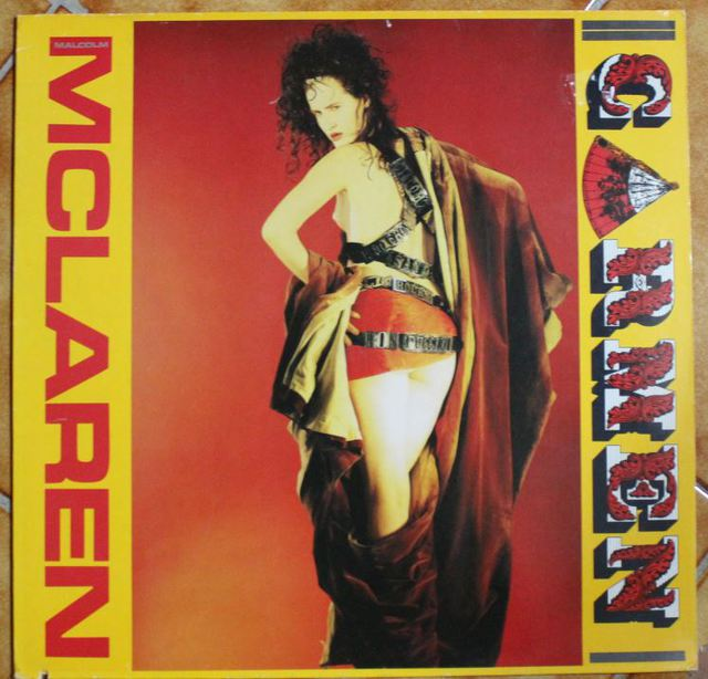 Malcolm McLaren - Carmen (Maxi-Cover)