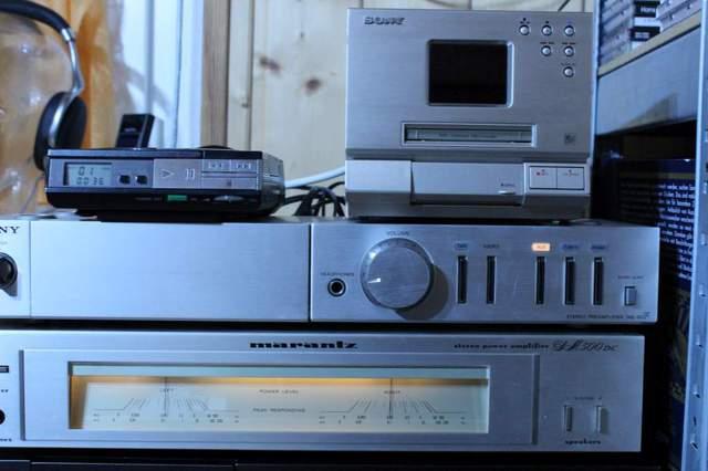 Marantz SM500 DC (sowie Sony D50, Sony TAE-20F, Sony MDS-MX1)