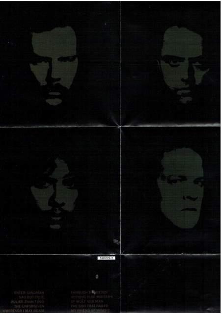 Metallica Metallica (CD-Inlay)