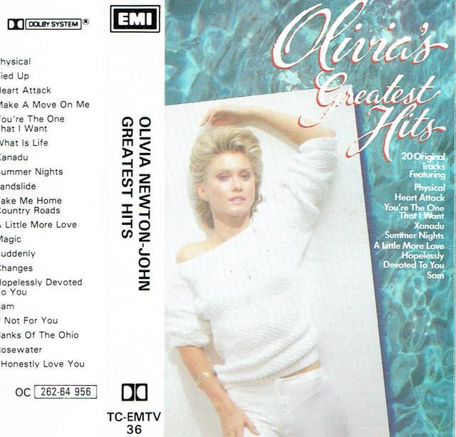 Olivia Newton-John - Olivia\'s Greatest Hits (MC-Cover)