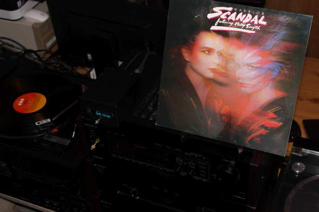 Scandal Feat. Patty Smyth - Warrior (LP-Cover)