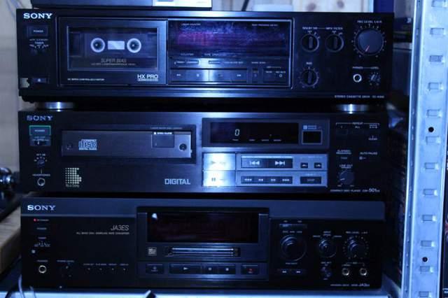 Sony CDP-501ES Sony MDS-JA3ES