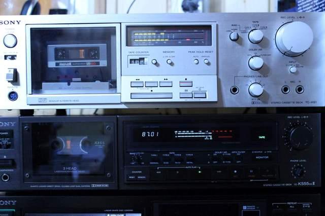 Sony TC-K61 und Sony TC-K555ESII