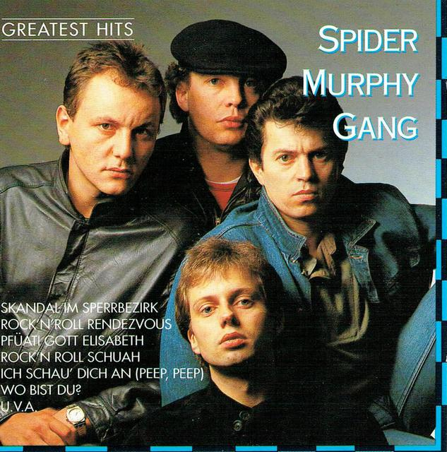 Spider Murphy Gang - Greatest Hits (CD-Cover)