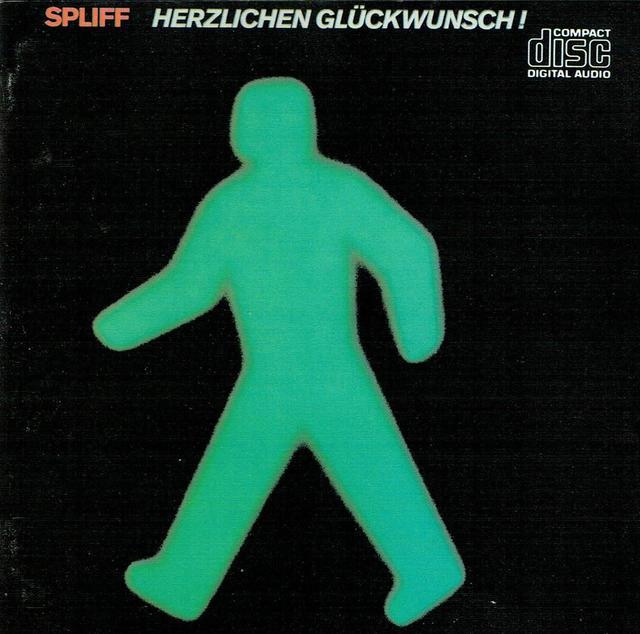 Spliff - Herzlichen Glückwunsch (CD-Cover)
