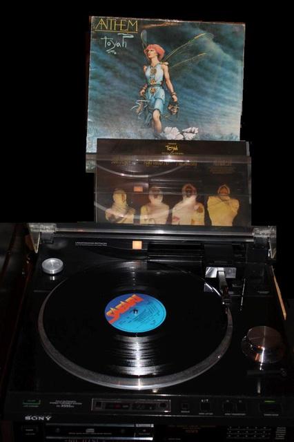 Toyah - Anthem (LP-Cover)