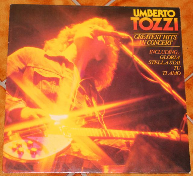 Umberto Tozzi - Greatest Hits in Concert (LP-Cover)