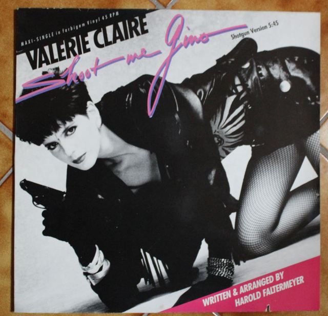 Valerie Claire - Shoot me Gino (Maxi-Cover)